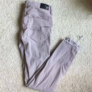 AE gray jegging
